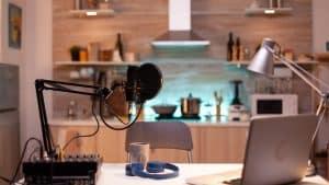 Joe Rogan Podcast Setup